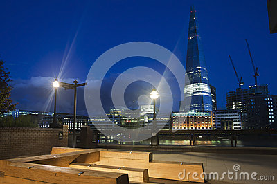 Shard by night Editorial Photography