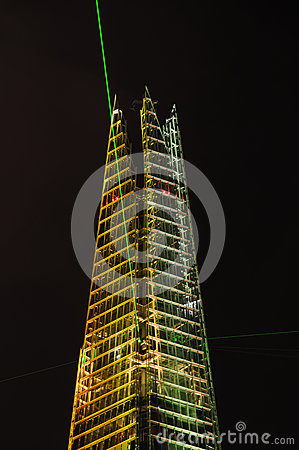 The Shard opening, London Editorial Image