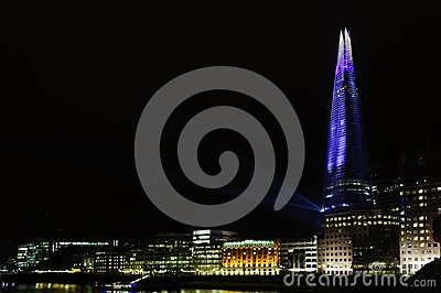 The Shard opening, London Editorial Photo