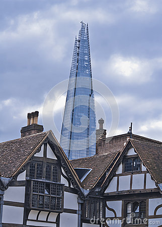 The Shard from The Tower, London