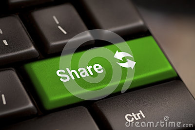 Share button key