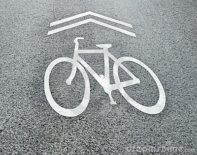 Share the road bicycle sign