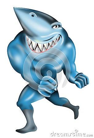 Shark as a super villain