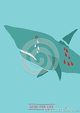 Save shark