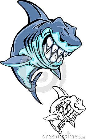 Free Shark Vector Logo Royalty Free Stock Photo - 14145725