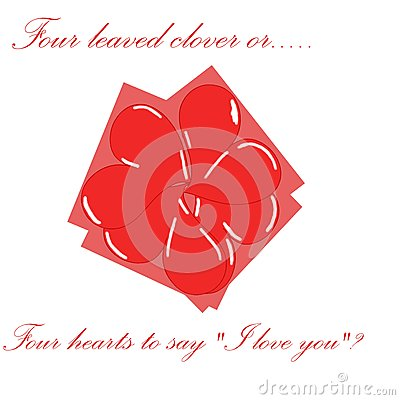 sharmrock made with hearts