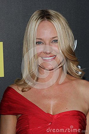 Sharon Case at the 39th Annual Daytime Emmy Awards, Beverly Hilton, Beverly Hills, CA 06-23-12 Editorial Image
