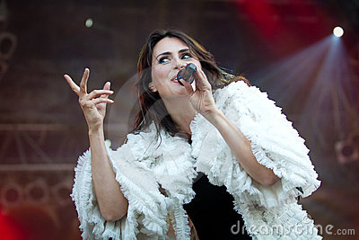 Sharon den Adel Editorial Photo