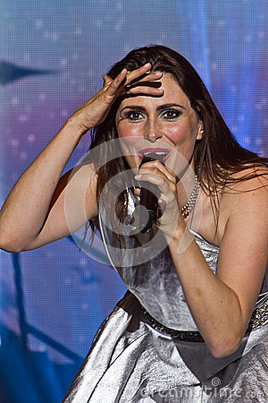 Sharon den Adel (Within Temptation) Editorial Photo