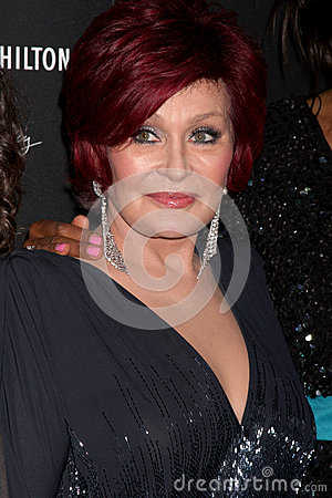 Sharon Osbourne arrives at the 2012 Daytime Emmy Awards Editorial Photography