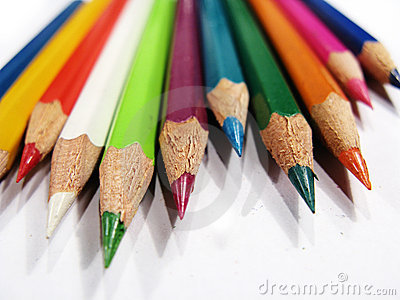 Sharp Colored Pencils