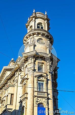 Free Sharp Corner Building In Saint Petersburg Royalty Free Stock Photo - 60797905