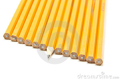 Sharp pencil