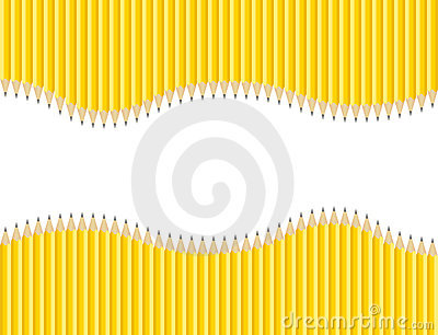 Sharpened Pencils Background