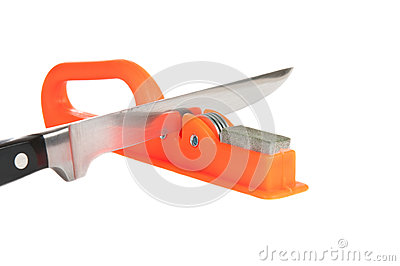 Sharpener and kitchen knife