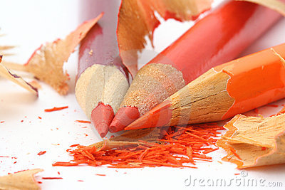 Sharpening colored pencils #3