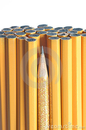 Free Sharpest Pencil In The Bunch Stock Photos - 368993