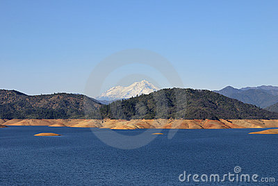 Shasta Lake Below Mt. Shasta