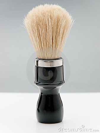 Shave brush still-life