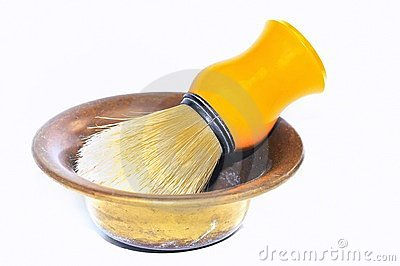 Shaving brush.