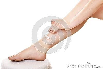 Shaving legs 1