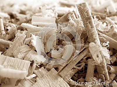 Shavings деревянные
