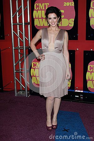 Shawna Thompson at the 2012 CMT Music Awards, Bridgestone Arena, Nashville, TN 06-06-12 Editorial Photography