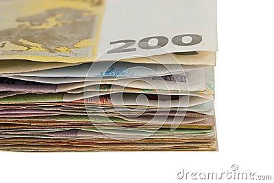 Sheaf banknotes