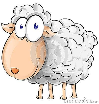 Free Sheep Cartoon Royalty Free Stock Images - 38744779