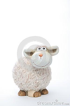 Sheep coin bank