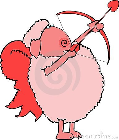 Sheep Cupid
