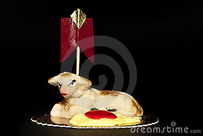 Sheep Marzipan- Easter cake- Sicily