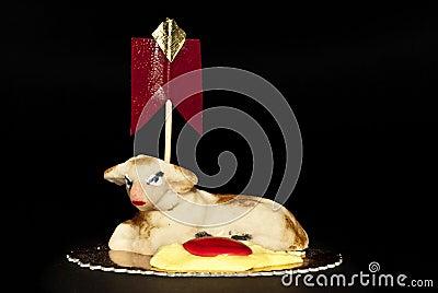 Sheep Marzipan- Easter cake- Sicily