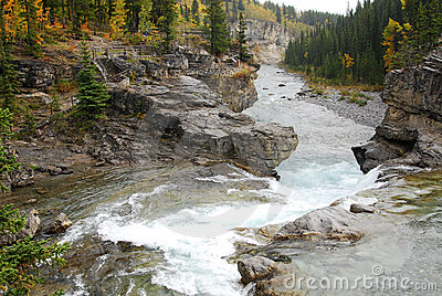 Sheep river waterfall