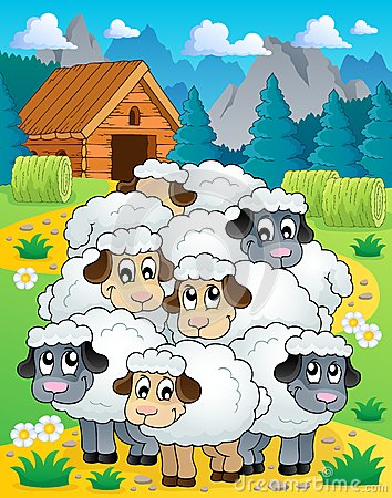 Sheep theme image 4