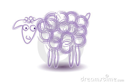Sheep Vector Illustration