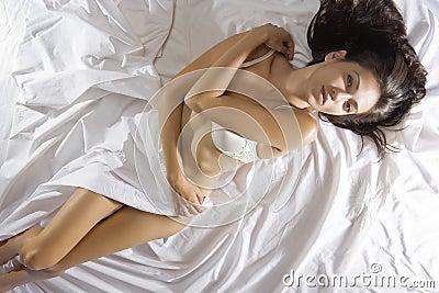 On sheet