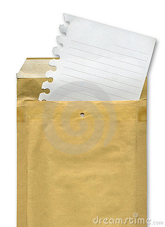 Sheet and envelope