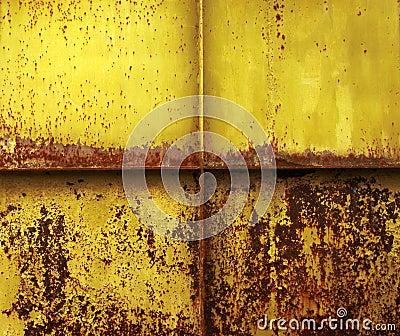 Sheet iron background