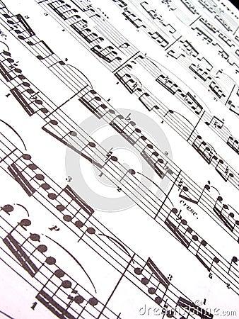 Free Sheet Music Royalty Free Stock Image - 278846