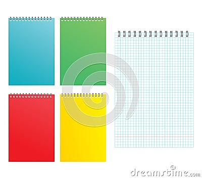 Sheet of a notebook