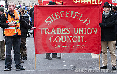 Sheffield Pensions Strike Editorial Photo
