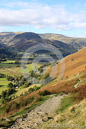 Free Sheffield Pike, Glenridding And Ullswater, Cumbria Royalty Free Stock Photo - 27094695