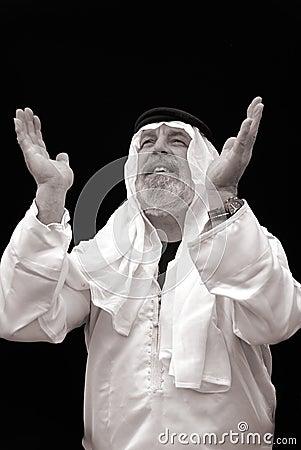 The Sheik Praying