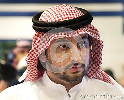 Sheikh Maktoum Bin Mohammed Bin Rashid Al Maktoum Editorial Stock Image