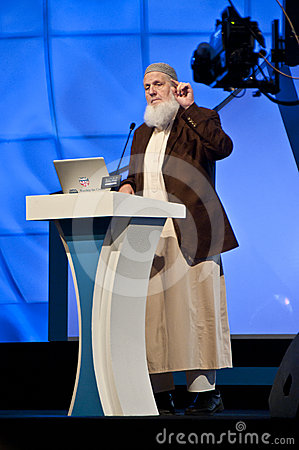 Sheikh Yusuf Estes from USA in DIPC 2012 Editorial Photography
