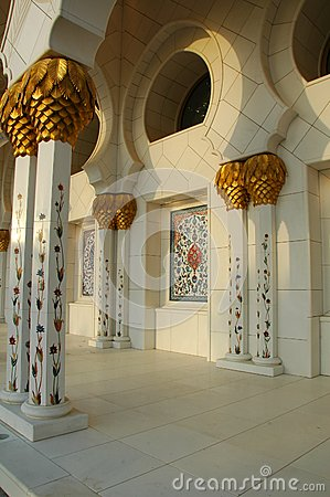 Free Sheikh Zayed Al Nayhan Mosque Royalty Free Stock Images - 25043409