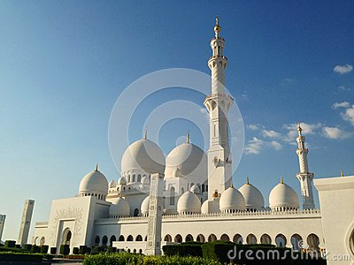 Sheikh Zayed Mosque in Abu Dhabi Editorial Photo