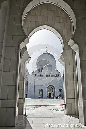 Sheikh Zayed Mosque, archway