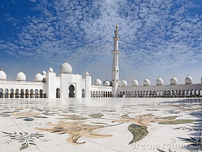Sheikh Zayed Mosque and Veranda
